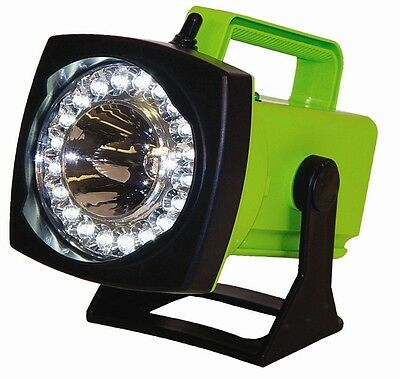 Sho-me Spot-flood Led Rechargeable Light - Dc Charger Vehicle Plug-in
