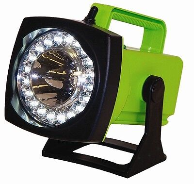 Sho-me Spot-flood Led Rechargeable Light - Ac Charger House Plug-in