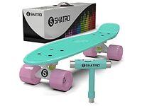 Skatro mini cruiser skateboard mint bliss like brand new