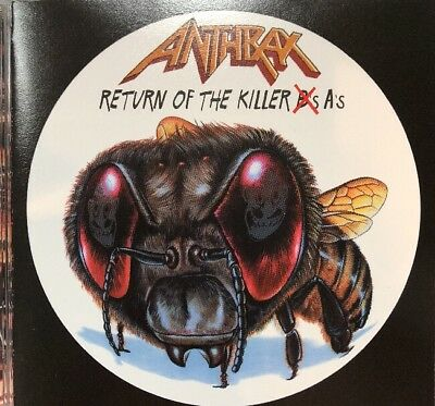 Return of the Killer As: Best of Anthrax CD Metallica