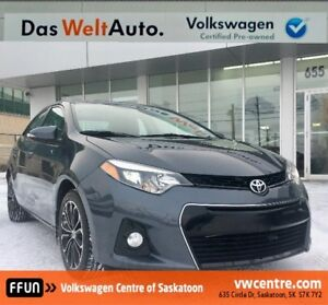 2015 Toyota Corolla S Sask Tax Paid, Accident Free, 2 Stage H...