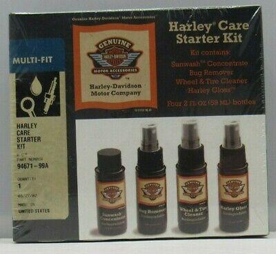 HARLEY-DAVIDSON HARLEY CARE STARTER KIT PART# 94671-99A SEALED ORIGINAL PACKAGE