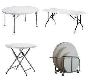 Banquet Tables, wedding chairs, chiavari chairs folding chairs Cambridge Kitchener Area image 6