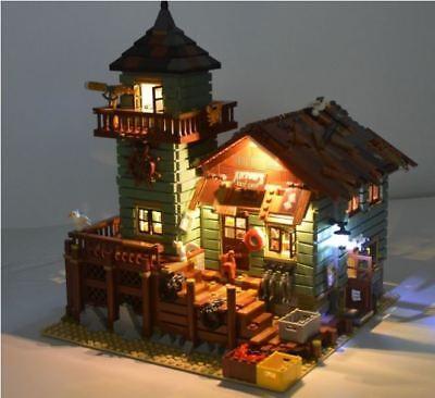 Brand new led Lighting kit for LEGO Ideas Old Fishing Store 21310