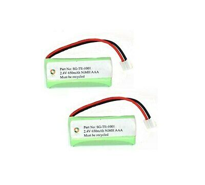 SPS Brand 2.4V 650 mAh Replacement Battery for Rayovac TEL10213 (2 Pack)