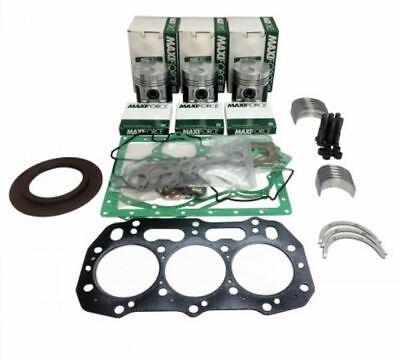 Ford New Holland Skid Steer L150 L140 Engine Rebuild Kit .50mm Piston