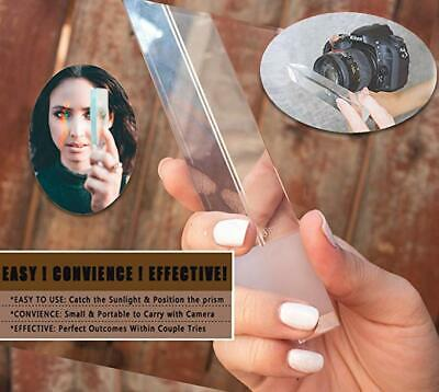 Film And Photo Photography Prism By Highest Quality Triangular Optical Glass 6in
