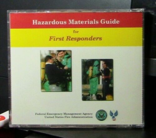 FEMA/Fire Administration: Hazardous Materials Guide for First Responders CD