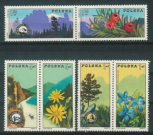 Poland stamps MNH (Mi. 2370-75) Mountain guide organisation (pair) - Bystra Slaska, Polska - Poland stamps MNH (Mi. 2370-75) Mountain guide organisation (pair) - Bystra Slaska, Polska