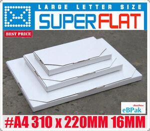 100-NEW-Mailing-Box-310x220x16mm-Rigid-Envelope-Mailer
