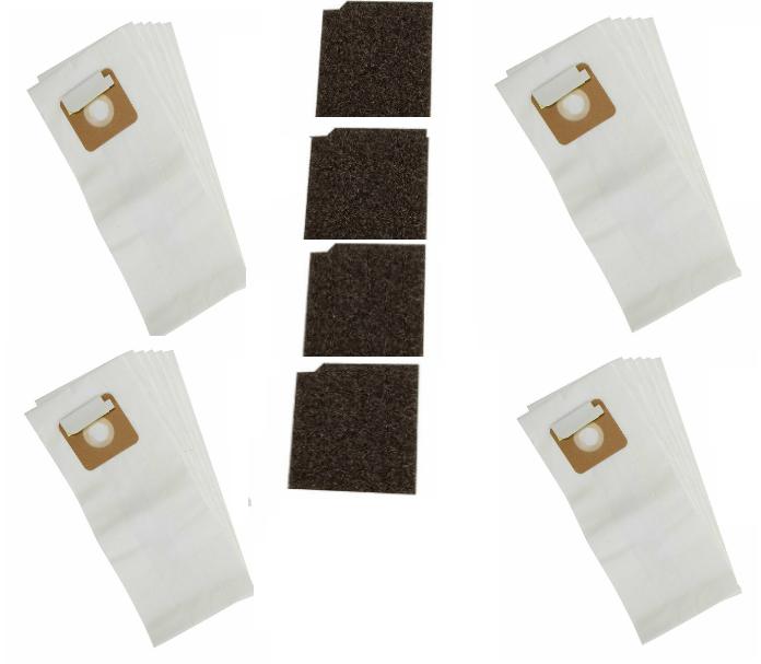 TENNANT Paper/Ply Vacuum Bag 24 Bags, 4 Filters Genuine OEM