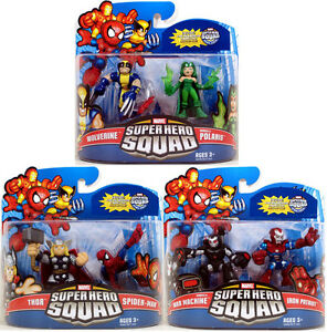 Marvel Superhero Squad LOT OF 3! Series 16 Mini 3
