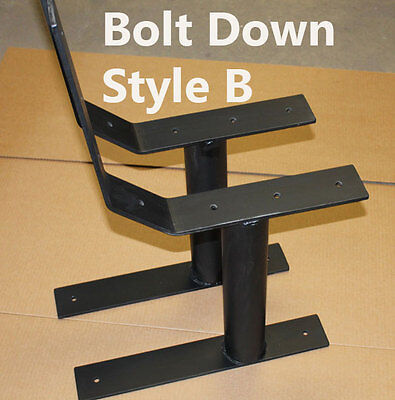 Free Standing Park Bench Frames-Solid Steel-Perfect project for the Eagle Scout