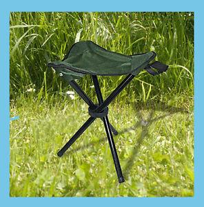 Fishing Chair Folding Camping Three Legged Stool