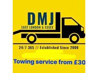 24 HOUR BREAKDOWN RECOVERY SERVICES, TOWING SERVICES FROM £30 ANY CAR VAN 4x4i