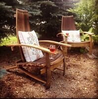 Hand Crafted Wine Barrel Chair