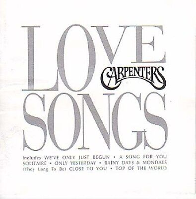 Carpenters Love Songs Cd New Sealed Goodbye To Love Top Of The World Solitaire