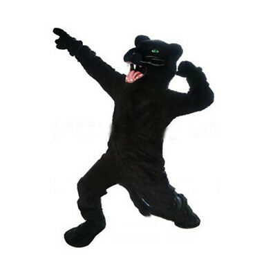 Wild Black Panther Mascot Costume Anime Cosplay Costumes Carnival Fancy - Wild Animal Costumes