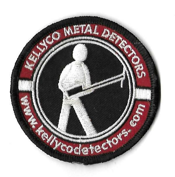 "KellyCo Metal Detectors Embroidered Round 3"" Patch"
