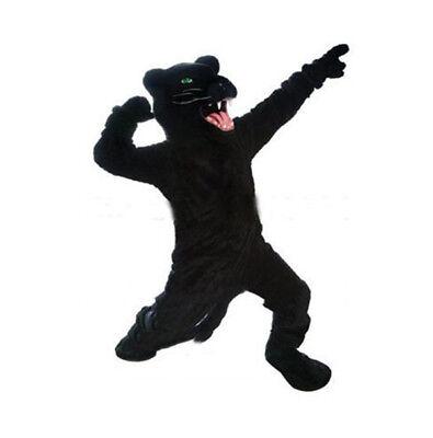 Black Panther Mascot Costume 2019 Wild Animal Unisex Cosplay Carnival Dress - Wild Animal Costumes