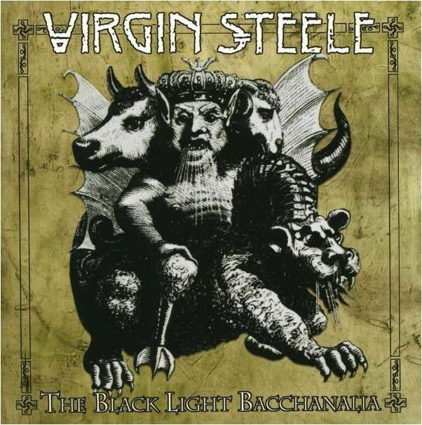 VIRGIN STEELE - The Black Light Bacchanalia CD