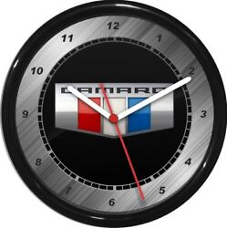 12 Camaro Wall Clock Personalized Garage Work Shop Gift  Man Cave Rec Room