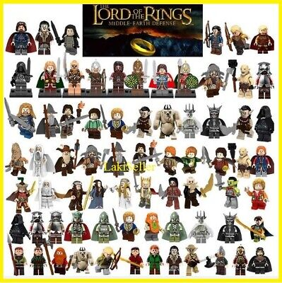Orc Lord Of The Rings (Lord Of The Rings Hobbit Mordor Orc Gandalf Frodo Minifigures Army Kids Toy)