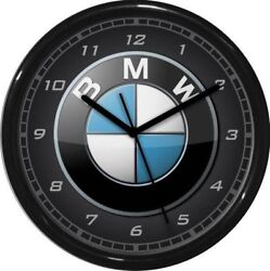 BMW Wall Clock 10 Garage Work Shop Gift  Father's Day Man Cave