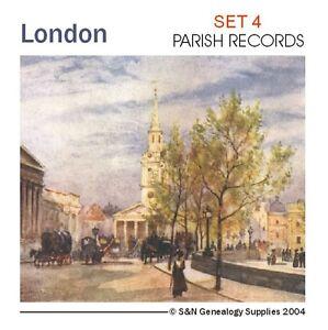 London Registers Set 4 - Parish Records
