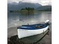 Unique fishing / sailing boat