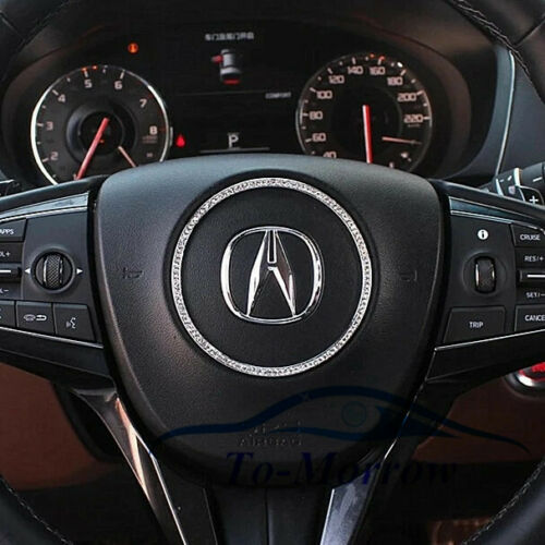 Fit For Acura Steering Wheel Emblem RL ILX TL TLX MDX RDX CL CSX ...