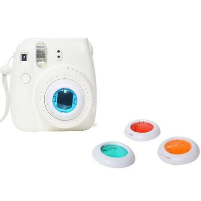 lovely Colorful Filter 4 Colors Magic Lens For Fujifilm Instax Mini 8 7s Cameras