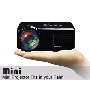 800 Lumens Portable Mini HD LED LCD Projector Home Cinema Burpengary Caboolture Area Preview