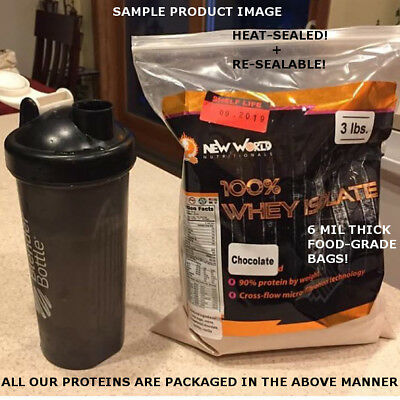 3lb Bulk Whey Protein ISOLATE (NOT concentrate) Manufacturer Direct UNFLAVORED 4