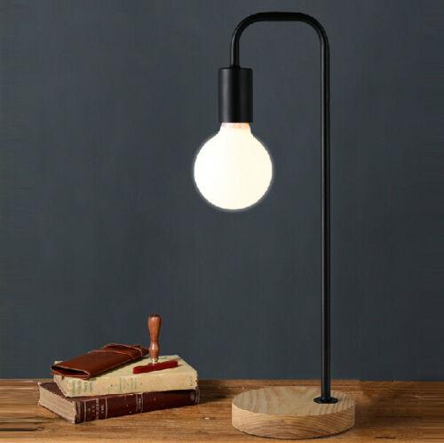 Solid wood base design table lamp bedside desk floor light for Wooden floor lamp bases australia