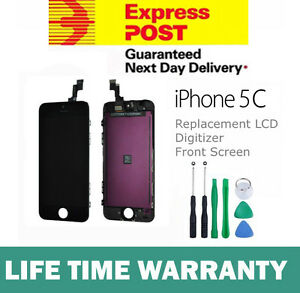 For-iPhone-5C-Replacement-LCD-Digitizer-Front-Screen-Assembly-Panel-Tool-Black