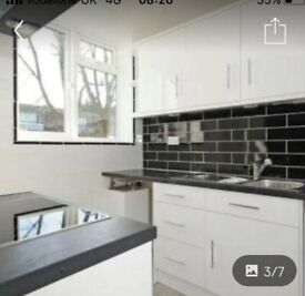 This is a large two bed flat that has been refurbished through out to the highest standard.