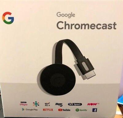 Google Chromecast NEW HDMI 1080p Dual Core Digital HD NEW!