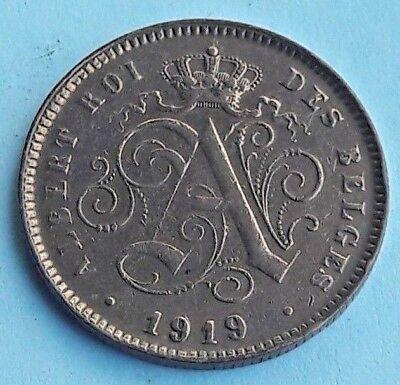Belgique, Albert I, 2 Centimes, 1919, SUP, Cuivre, Belgïe