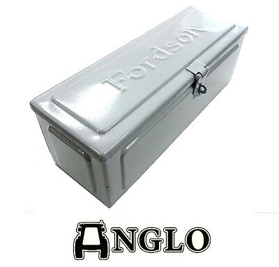 """Used, Fordson Model N + F Tractor Tool Box c/w """"FORDSON"""" Logo Anglo Quality E27N Major for sale  Shipping to United States"""