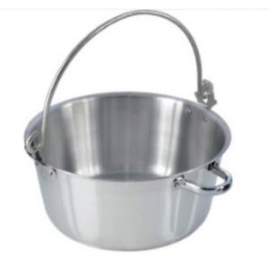 Large Stainless Steel 8L Litre 14 Pint Jam Marmalade Making Preserve Cook Pan