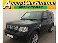 Land Rover Discovery 4 FROM £96 PER WEEK!