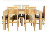 Oak Veneer Dining Table *NEW*