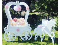 Candy Cart/Carriage to hire Nottinghamshire