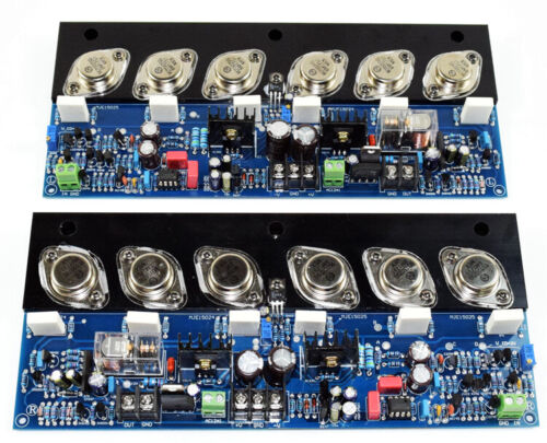stereo hiend E405 power AMP amplifier board ,class A 2*60W,class AB 2*200W