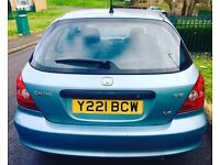 Civic 10 Month Mot 12month tax full service history good runner lady owner