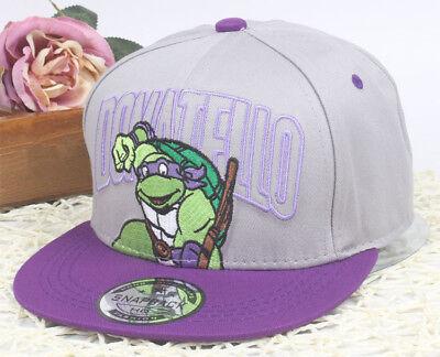 Teenage Mutant Ninja Turtles Kinder Snapback Baseball Cap - Teenage Mutant Ninja Turtles Hut