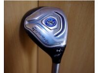 ** TAYLORMADE JETSPEED 4 22 HYBRID RESCUE RH REGULAR GOLF CLUB L@@K AT BARGAIN **