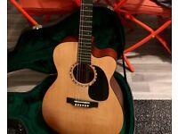 2005 Martin JC-16GTE Electro Acoustic Guitar Premium Gloss Top Jumbo Cutaway w/Case - Fishman