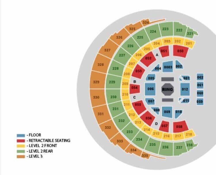 2 x UFC TicketsGlasgowin Ellon, AberdeenshireGumtree - Selling 2x UFC tickets for Glasgow 16th of July looking for face value £340.50. Section 060 Row F